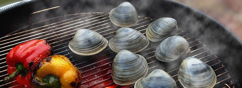 Clams on the Grill